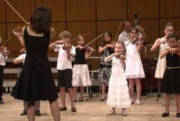 Les jeunes talents de violonissimo